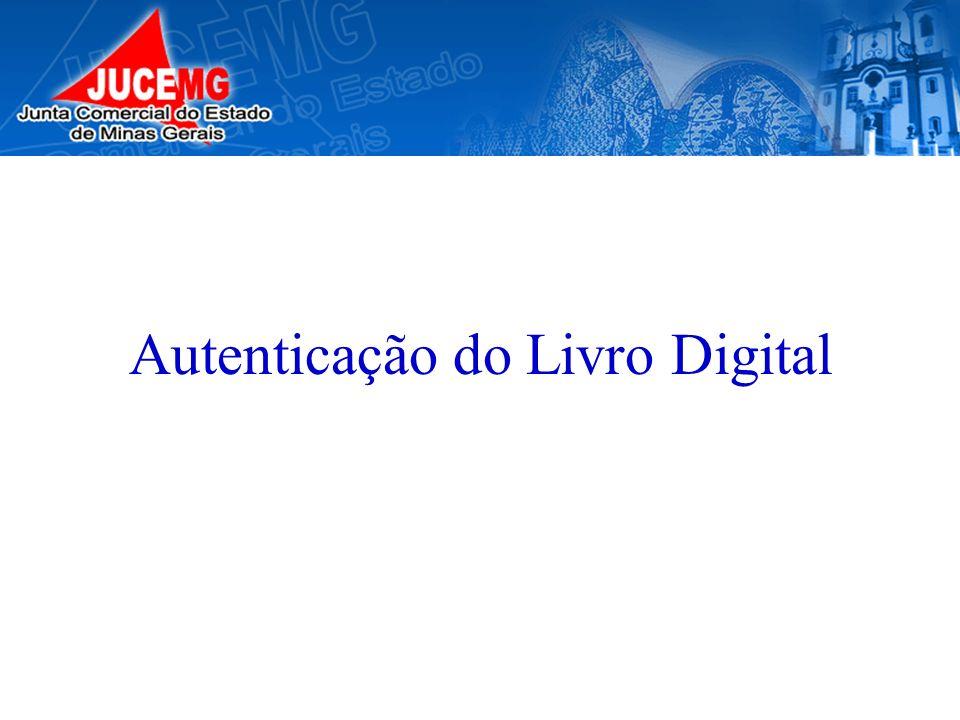 Autenticação do Livro Digital