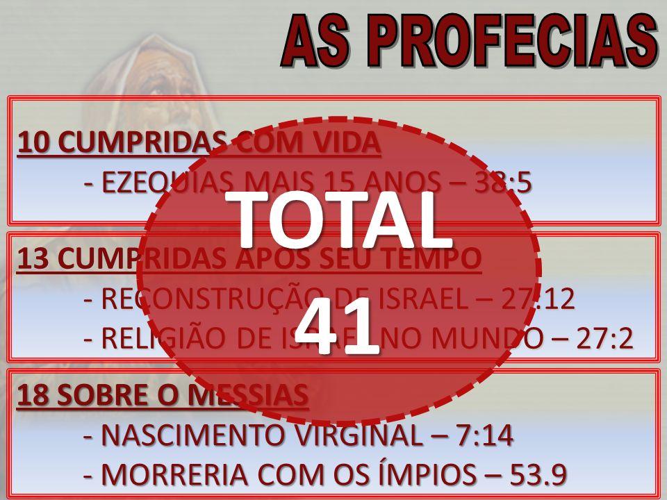 CARACTERÍSTICAS -COMPOSTO POR 5 CAPÍTULOS -SENDO OS CAP.