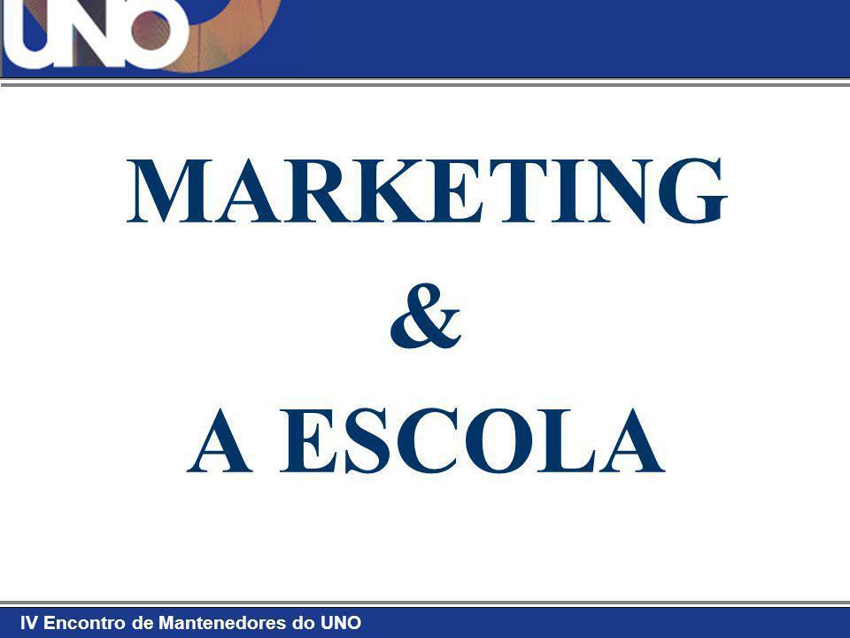 IV Encontro de Mantenedores do UNO Afinal, o que é Marketing Educacional.
