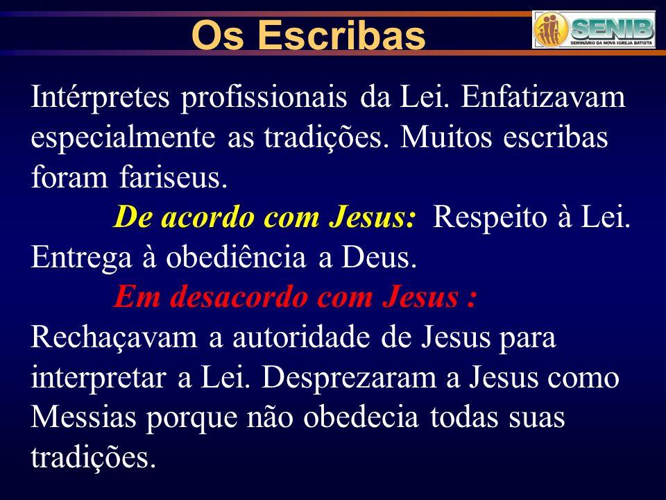 2- Seitas político-religiosas na época de Cristo.Os Fariseus Separados .