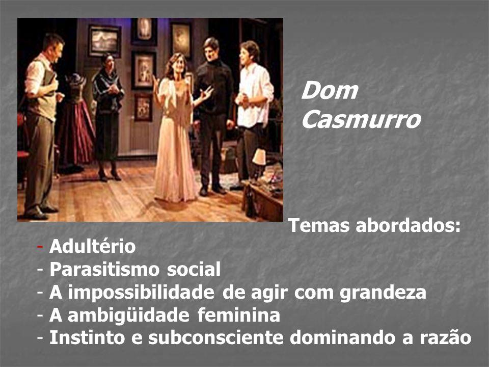Autores e obras: - Realismo - JOAQUIM MARIA MACHADO DE ASSIS (1839 – 1908) Memórias póstumas de Brás Cubas (1881) Quincas Borba (1892) Dom Casmurro (1