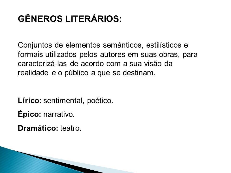 Os textos são divididos em Prosa e Verso Prosa: é o nosso modo habitual de falar e escrever.