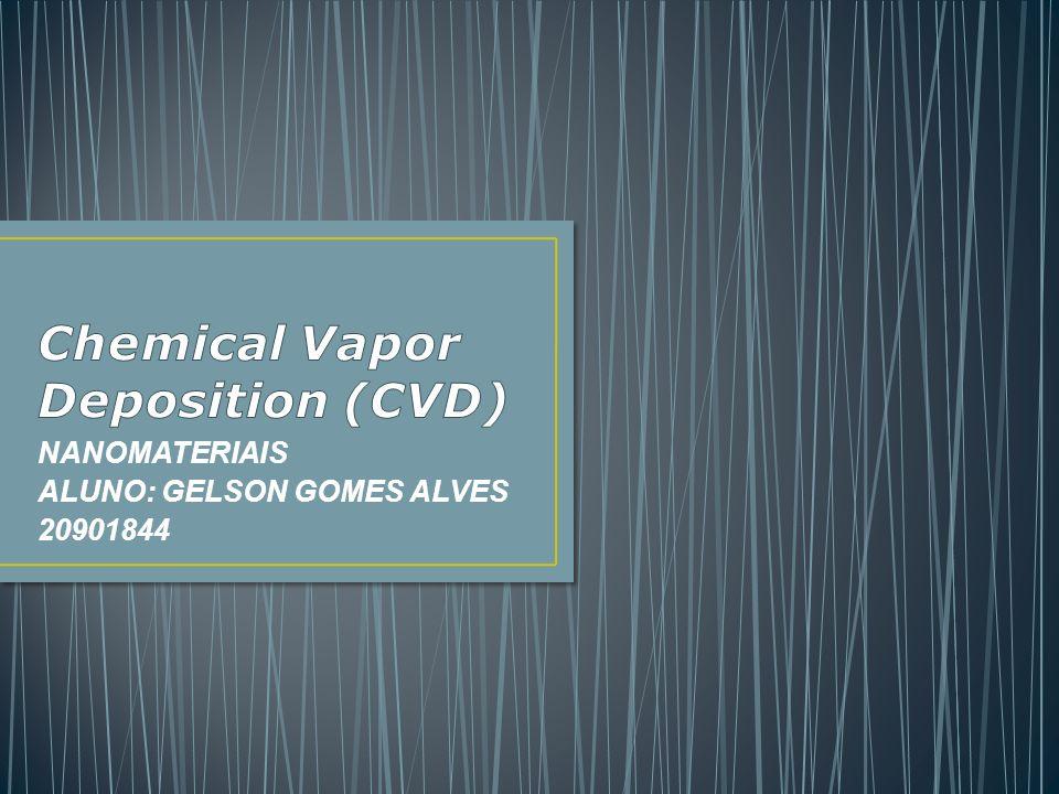 NANOMATERIAIS ALUNO: GELSON GOMES ALVES 20901844