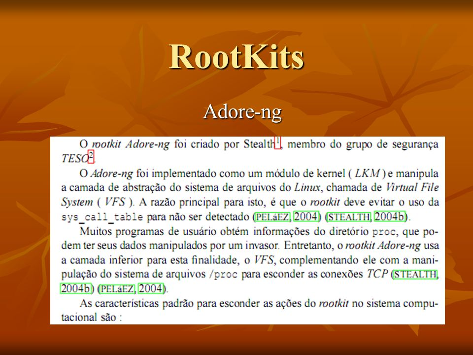 RootKits Adore-ng