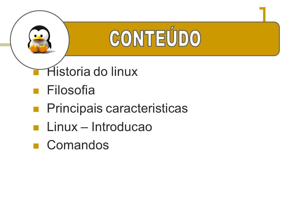 pwd Exibe o nome e caminho do diretório atual.Sintaxe: pwd mkdir Cria um diretório no sistema.