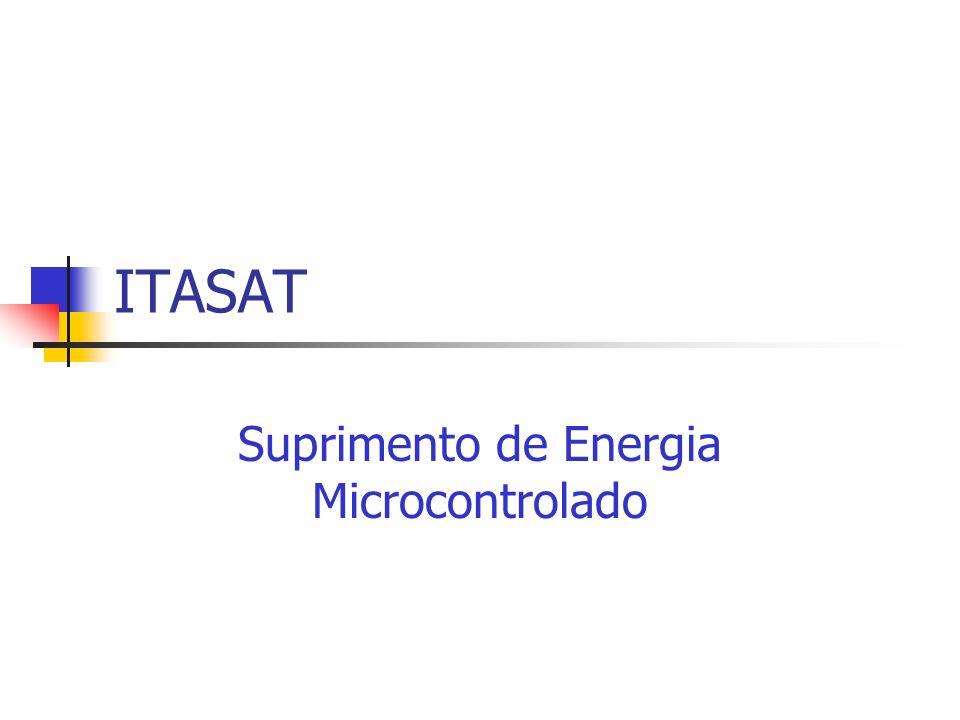 ITASAT Suprimento de Energia Microcontrolado