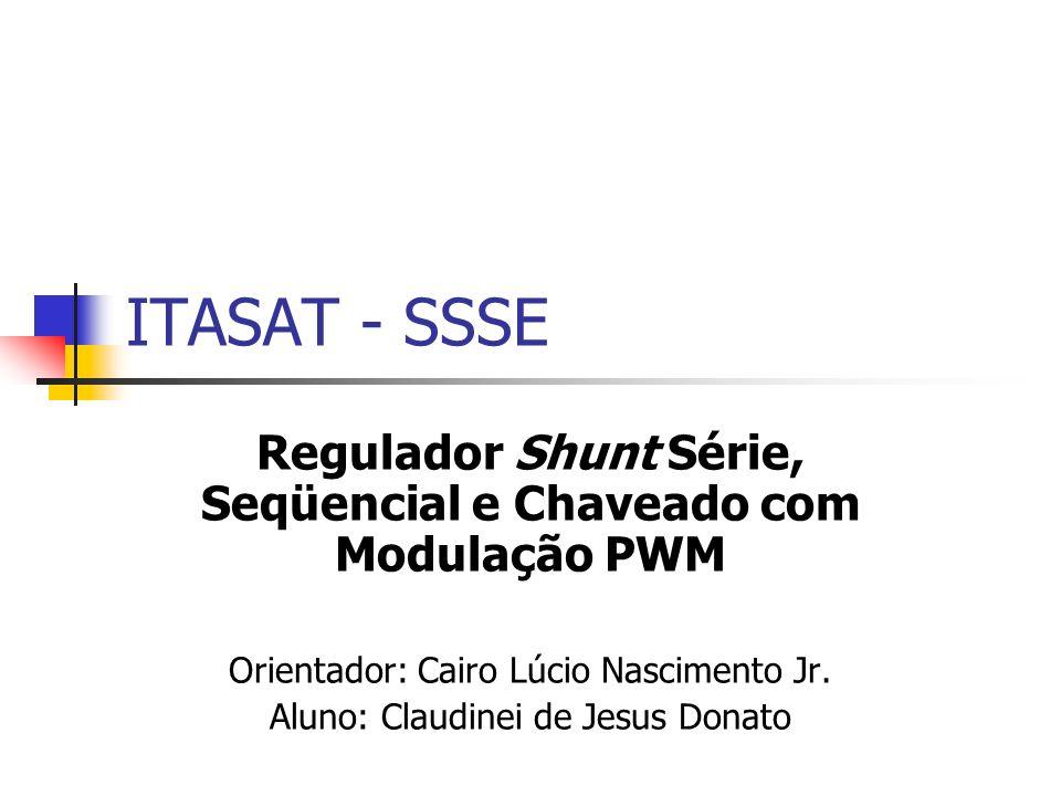 19/12/2006Claudinei - ITASAT12 SIMULINK – Malha Fechada Realimentação de Tensão Iout = 0,3 A Vout = 8,62 V Vout Nominal = 14 V D = 0,383