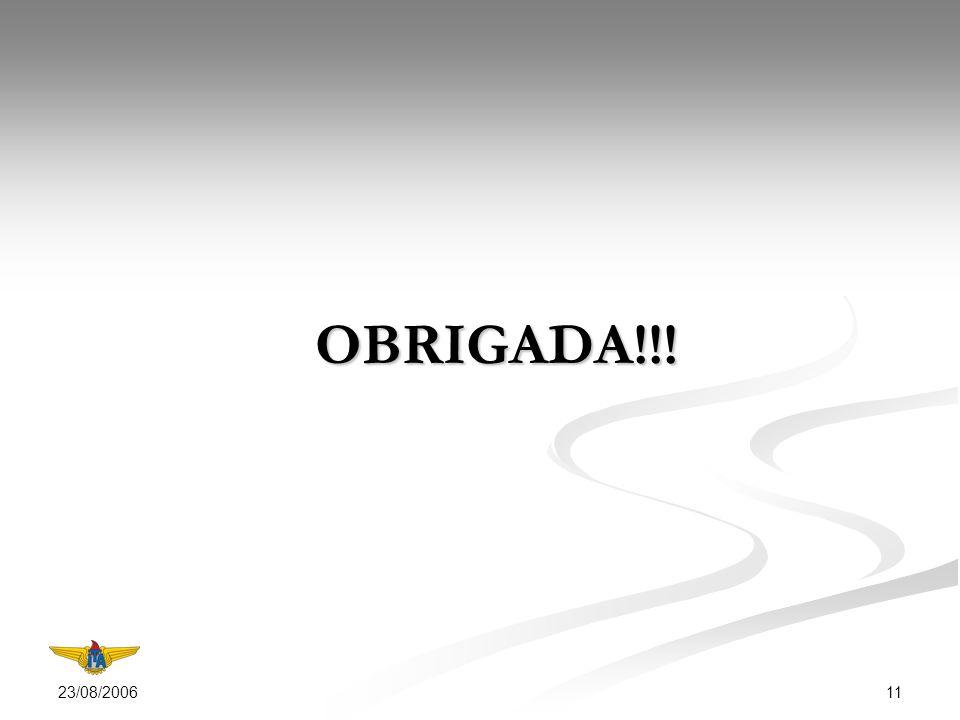 23/08/2006 11 OBRIGADA!!!