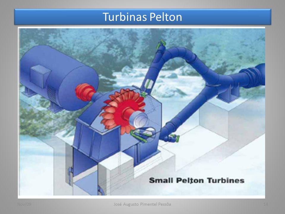Turbinas Pelton Nov/09José Augusto Pimentel Pessôa14