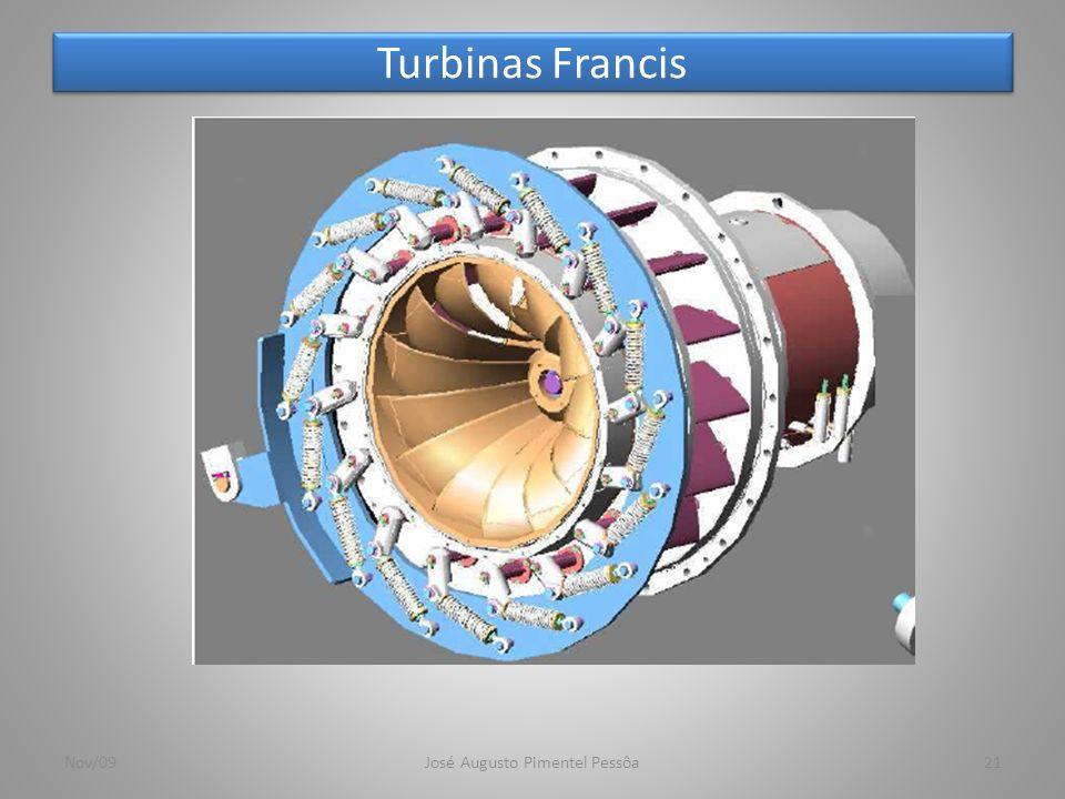 Turbinas Francis 21Nov/09José Augusto Pimentel Pessôa