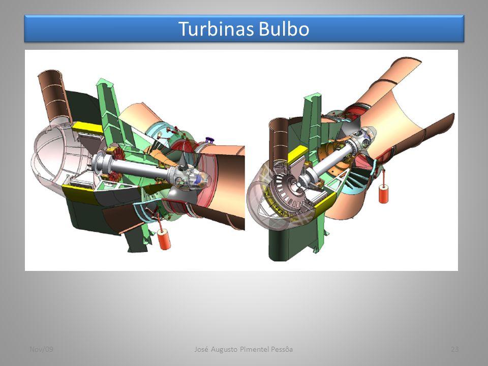 Turbinas Bulbo 23Nov/09José Augusto Pimentel Pessôa