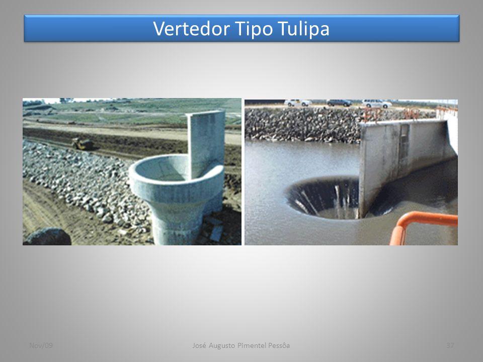 Vertedor Tipo Tulipa Nov/09José Augusto Pimentel Pessôa37