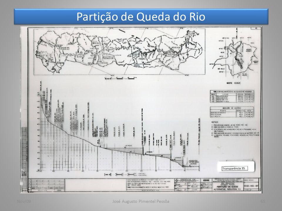 Partição de Queda do Rio 65Nov/09José Augusto Pimentel Pessôa