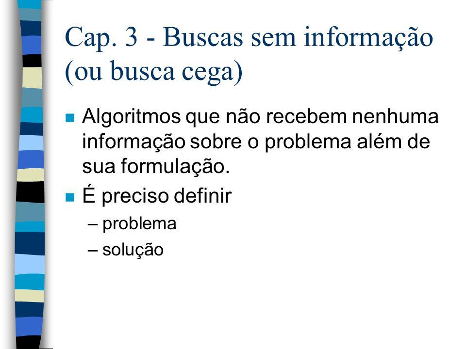 n Abstração válida: se qqr solução abstrata pode ser expandida em uma solução mais detalhada; n Abstração útil: se a execução de cada uma das ações na solução é mais fácil que o problema original.