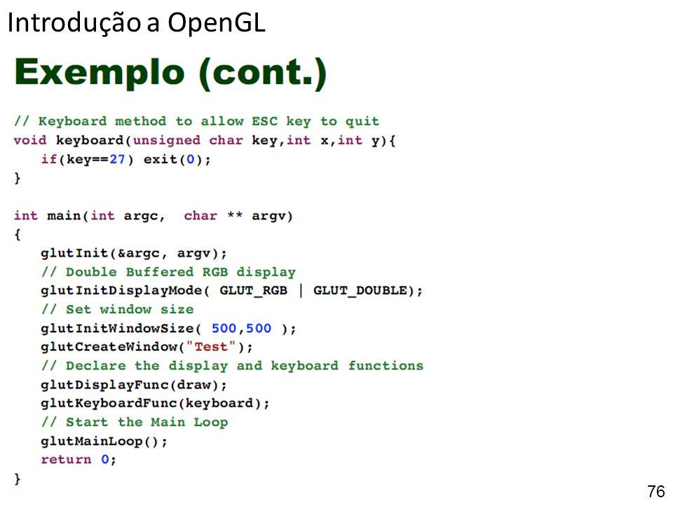 Introdução a OpenGL 76