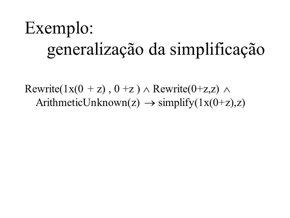 Rewrite(1x(0 + z), 0 +z ) Rewrite(0+z,z) ArithmeticUnknown(z) simplify(1x(0+z),z)