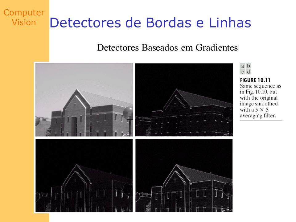 Computer Vision Detectores de Bordas e Linhas Detectores Baseados em Gradientes