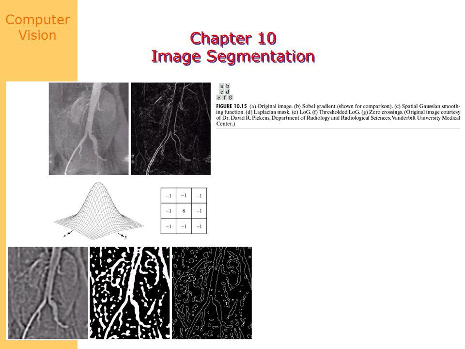 Computer Vision Chapter 10 Image Segmentation Chapter 10 Image Segmentation