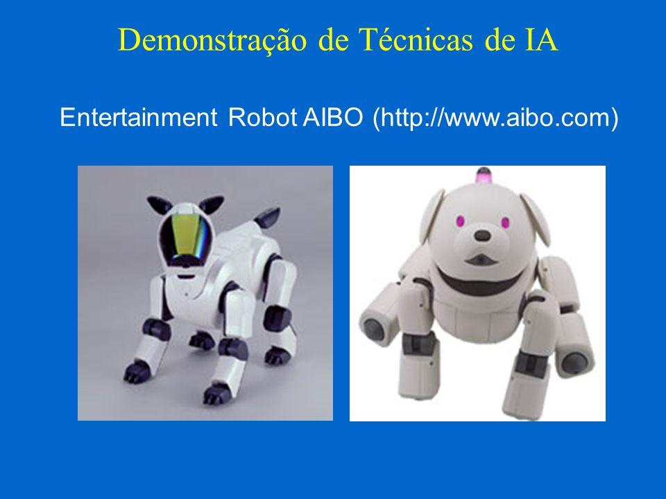 http://www.sony.net/ProductsServices/Robots/ Demonstração de Técnicas de IA