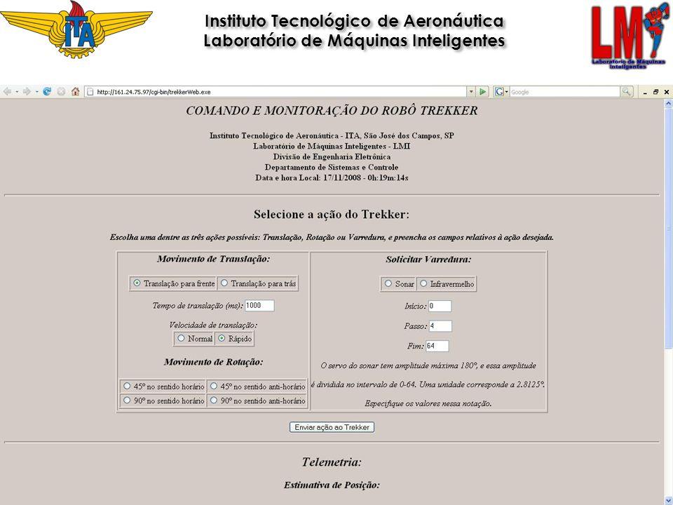 Instituto Tecnológico de Aeronáutica Laboratório de Máquinas Inteligentes Instituto Tecnológico de Aeronáutica Laboratório de Máquinas Inteligentes