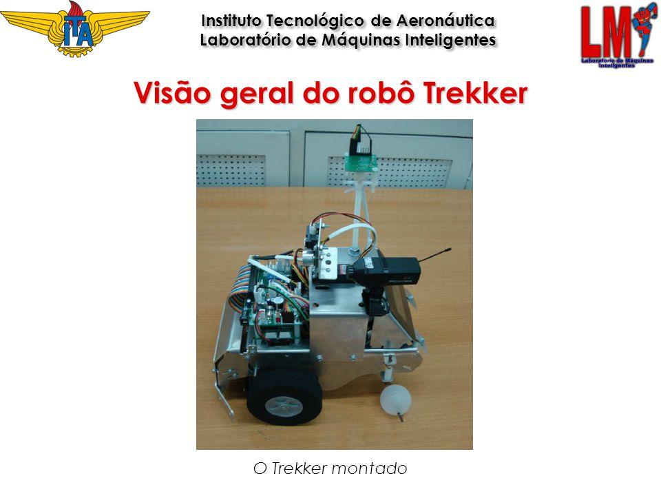 O Trekker montado Visão geral do robô Trekker Instituto Tecnológico de Aeronáutica Laboratório de Máquinas Inteligentes Instituto Tecnológico de Aeron