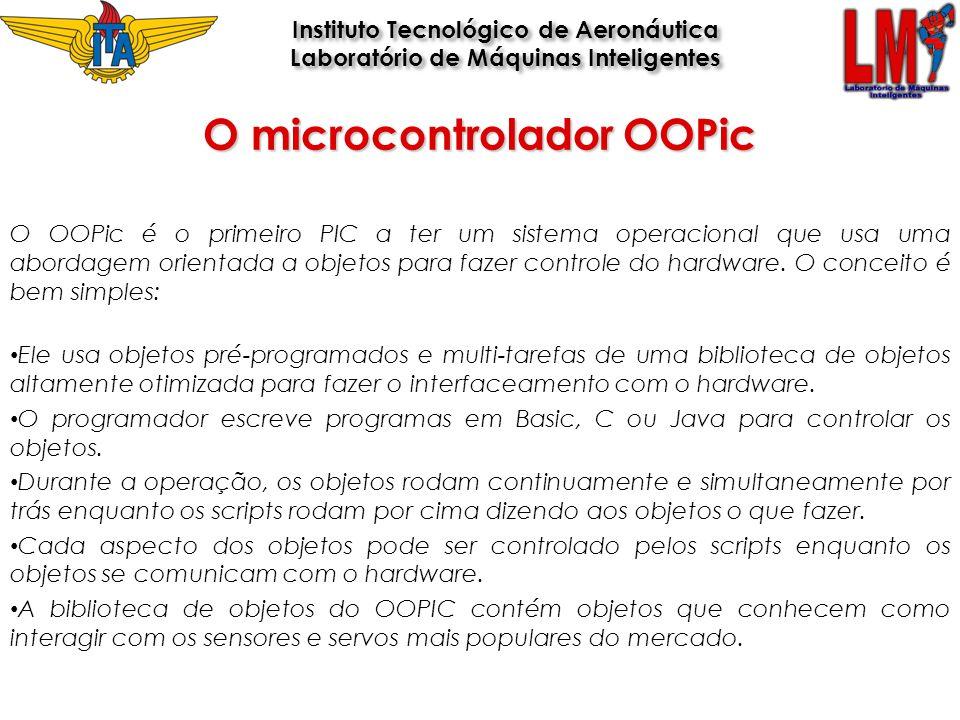 O OOPic é o primeiro PIC a ter um sistema operacional que usa uma abordagem orientada a objetos para fazer controle do hardware. O conceito é bem simp