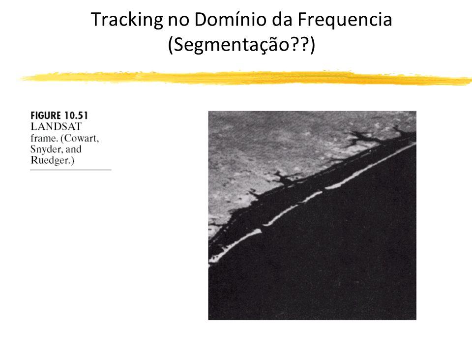 Tracking no Domínio da Frequencia (Segmentação )
