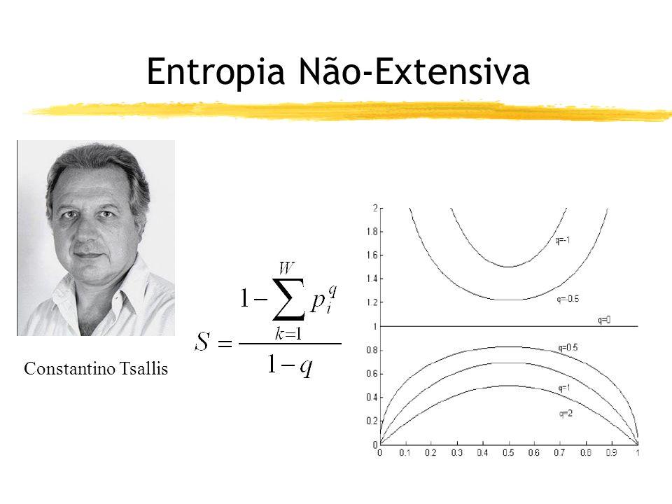 Entropia Não-Extensiva Constantino Tsallis