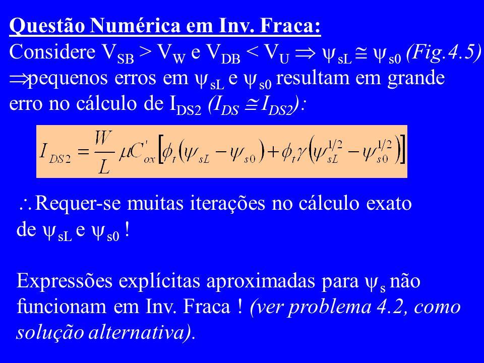 Questão Numérica em Inv.