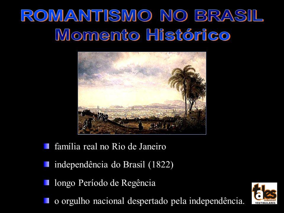 família real no Rio de Janeiro independência do Brasil (1822) longo Período de Regência o orgulho nacional despertado pela independência.