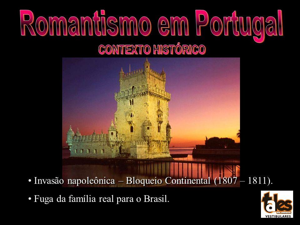 Invasão napoleônica – Bloqueio Continental (1807 – 1811). Fuga da família real para o Brasil. Invasão napoleônica – Bloqueio Continental (1807 – 1811)