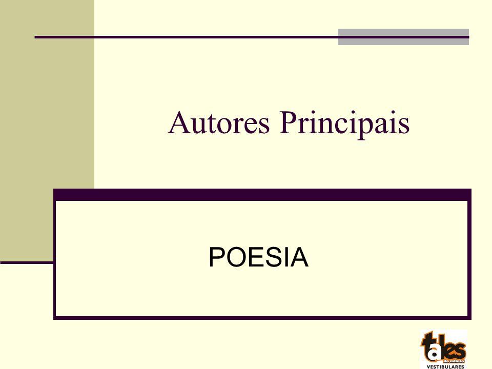 Autores Principais POESIA