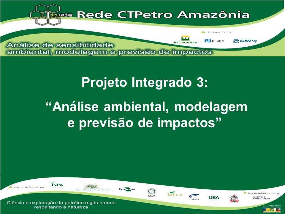 Instituições envolvidas: Instituto Nacional de Pesquisas da Amazônia Universidade Federal do Pará Universidade Federal do Amazonas