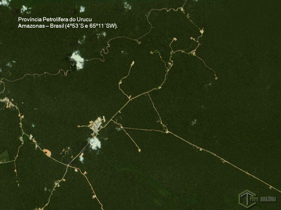 Província Petrolífera do Urucu Amazonas – Brasil (4º53´S e 65º11´SW).