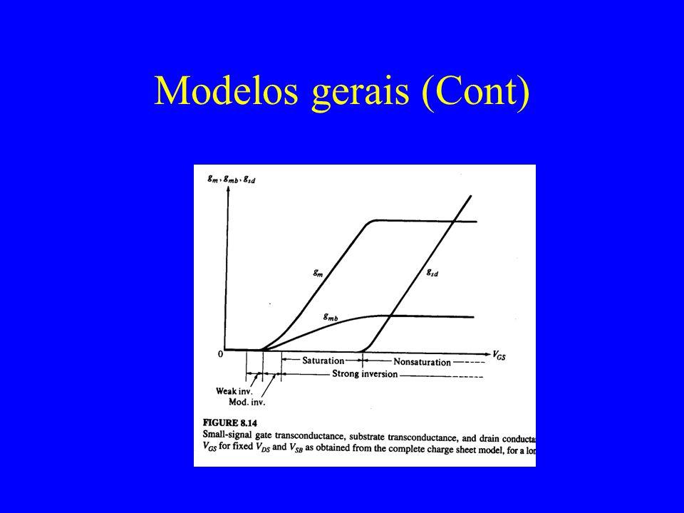 Modelos gerais (Cont)