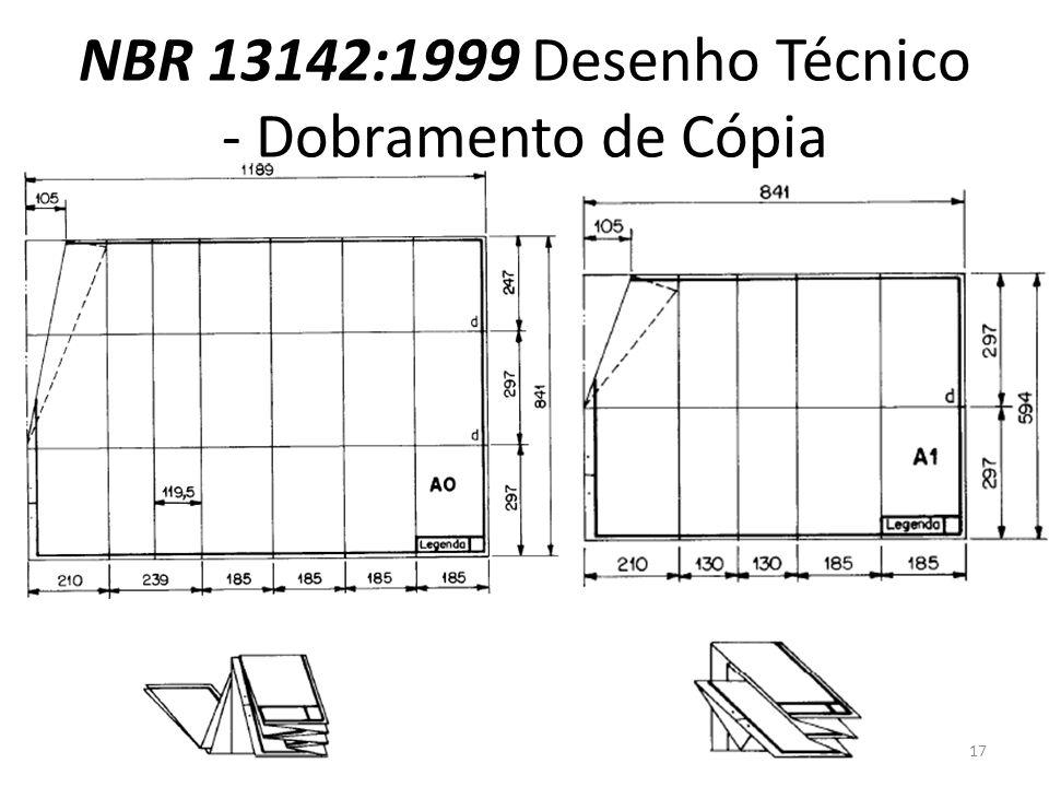 NBR 13142:1999 Desenho Técnico - Dobramento de Cópia 17