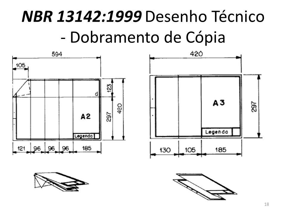 NBR 13142:1999 Desenho Técnico - Dobramento de Cópia 18