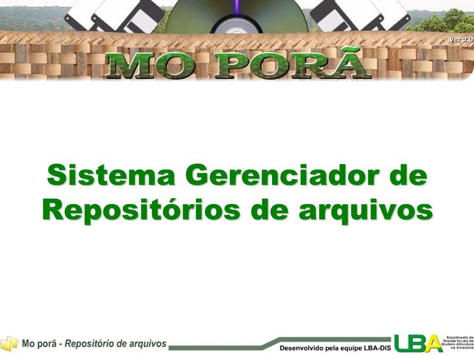 Sistema Gerenciador de Repositórios de arquivos
