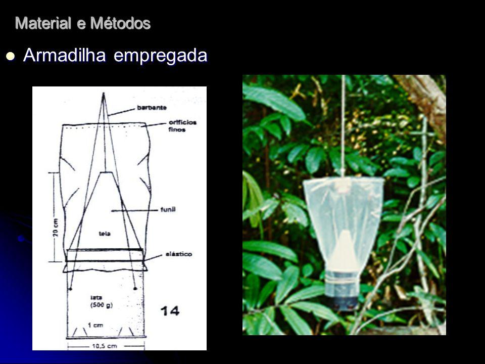 Triagens no laboratório de Ecologia e Zoologia de Invertebrados do CCB, UFPa e no laboratório de Entomologia do MPEG.