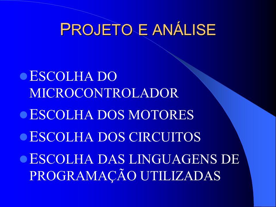 I MPLEMENTAÇÃO E INTEGRAÇÃO I MPLEMENTAÇÃO DO CIRCUITO DE ACIONAMENTO A LTERAÇÃO DO PROGRAMA DE ESCOLHA DA TRAJETÓRIA C RIAÇÃO DO PROGRAMA DO MICROCONTROLADOR C RIAÇÃO DO PROGRAMA DE COMUNICAÇÃO I MPLEMENTAÇÃO DOS SENSORES I NTEGRAÇÃO DOS DIVERSOS SISTEMAS
