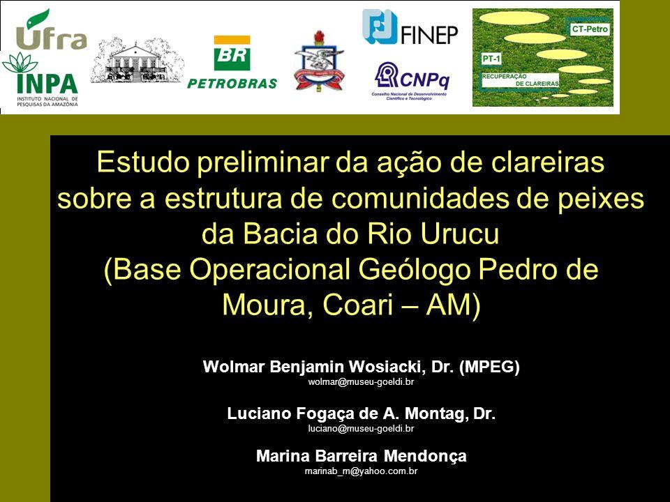 Estudo preliminar da ação de clareiras sobre a estrutura de comunidades de peixes da Bacia do Rio Urucu (Base Operacional Geólogo Pedro de Moura, Coar
