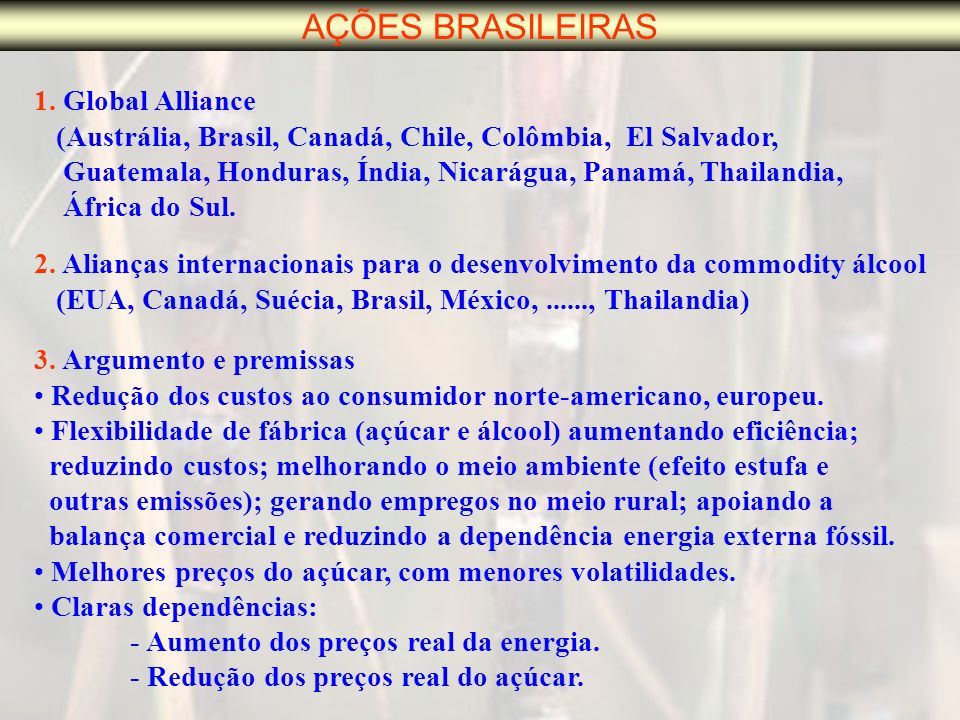 AÇÕES BRASILEIRAS 1.