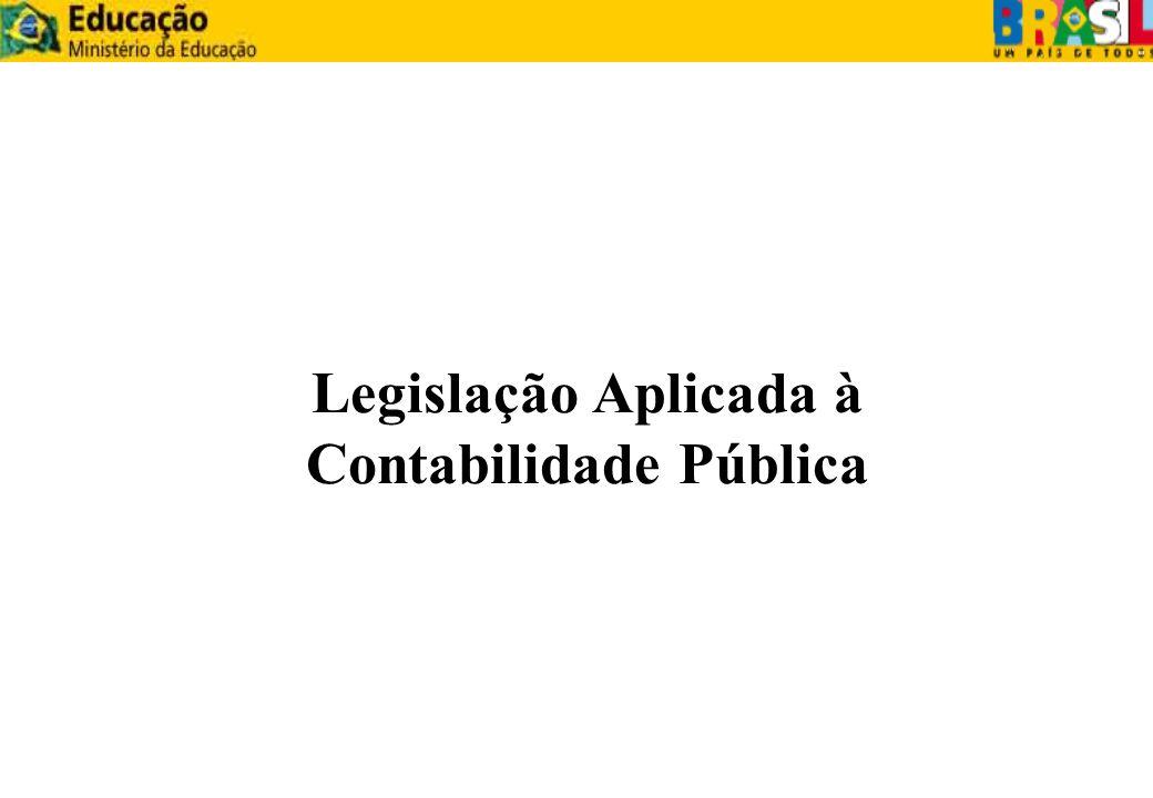 Constituição Federal de 1988 Artigos 70 a 75 - Tratam da Fiscalização Contábil, Financeira e Orçamentária.