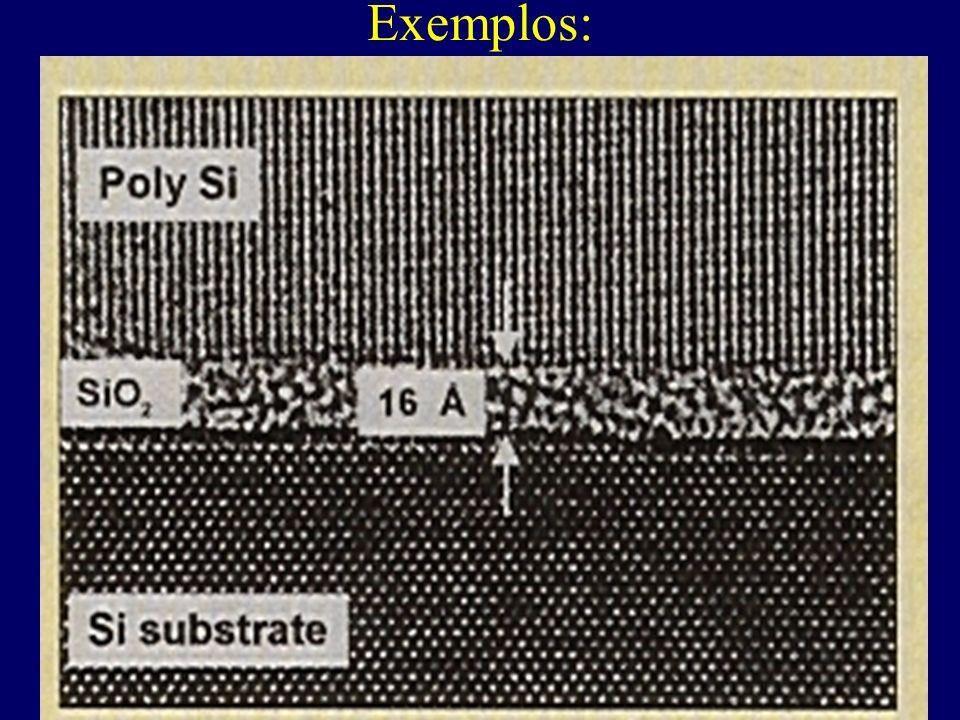Diagrama de bandas simplificada de semicondutores e isolantes: