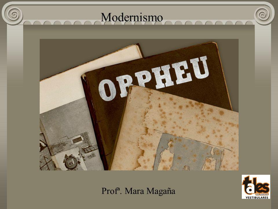 Modernismo Profª. Mara Magaña