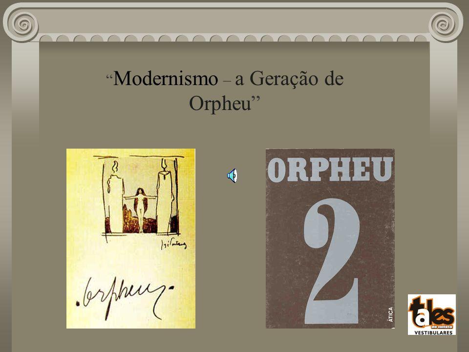 Modernismo – a Geração de Orpheu