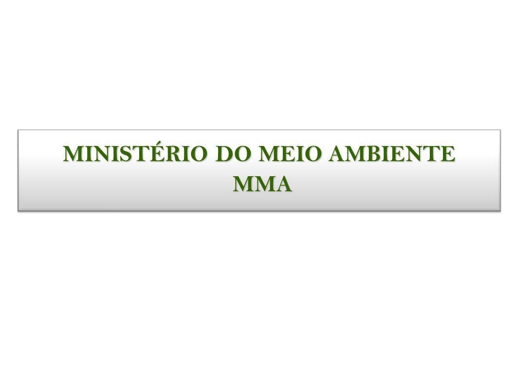 MINISTÉRIO DO MEIO AMBIENTE MMA MMA