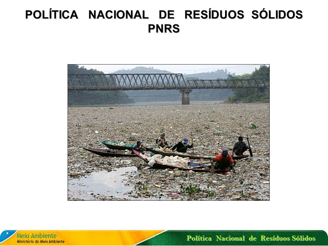 Política Nacional de Resíduos Sólidos A ELIMINAÇÃO DOS LIXÕES ATÉ 2/8/2014