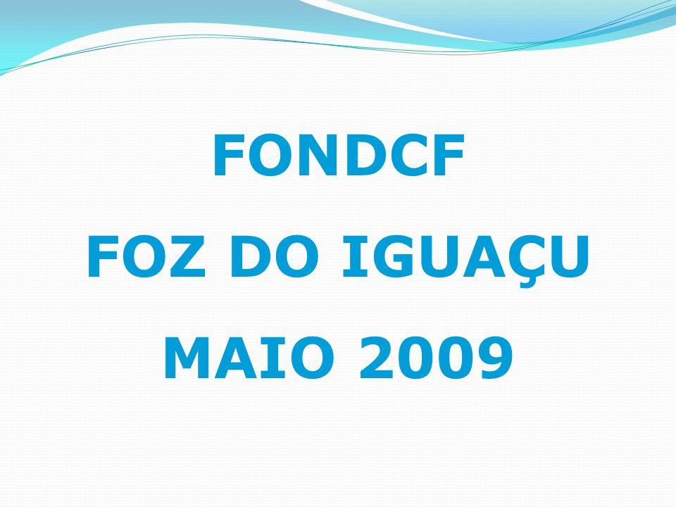 FONDCF FOZ DO IGUAÇU MAIO 2009