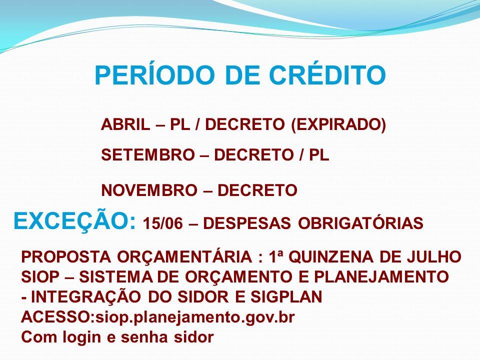 Portaria SPO Nº01/2009 - Art.2º, § 2º SIMEC LOA LOA DISPONIBILIZAÇÃO DE FUNCIONALIDADE PLANO DE TRABALHO AÇÕES ORÇAMENTÁRIAS Portaria SPO Nº01/2009 - Art.3º, §1ºda OBRIGATORIEDADE DE PI ESPECÍFICO PARA CADA OBRA CADASTRADA NO MÓDULO DE OBRAS
